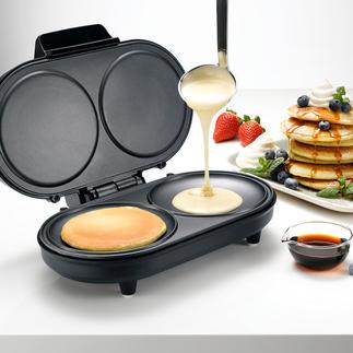 Appareil à pancake Pour des crêpes légères et aériennes, rapidement préparées à votre goût.