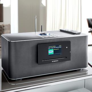 Système musical multi-pièces Roberts S300 ou Haut-parleurs multi-pièces Roberts S1 « Le Roberts S300 réunit tout ce qu'un système audio moderne doit avoir ».