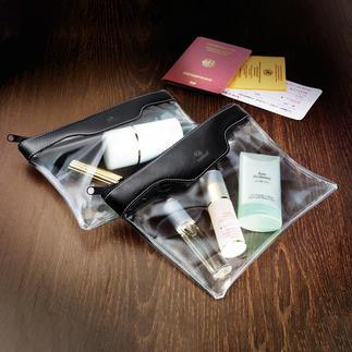 Trousse cosmétiques pour bagage à main, lot de 2 Idéal comme bagage à main, pour les cosmétiques, les produits de soin, …