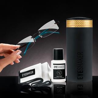 Lot nettoyeur de lunettes Eyeshaker Une innovation épatante : le « Eye Shaker » nettoie vos lunettes en un clin d'œil.