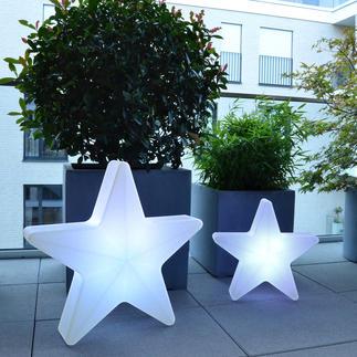 Etoile lumineuse 3D Une étoile montante en matière de déco de Noël.