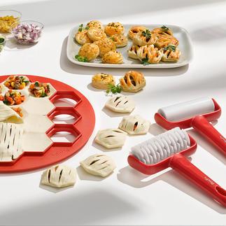 Lot pour mini-tourtes, 3 pièces Préparez de délicieux mini-tourtes aux mille et une garnitures en un temps record.