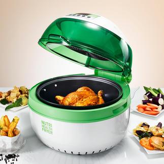 Health Fryer XL Pour frire, cuire, rôtir, sauter, mijoter et griller – même à la broche.