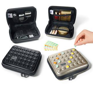 Etui poids plume Dot-Drops® Une protection stylée pour vos articles de toilette, médicaments, appareils nomades …
