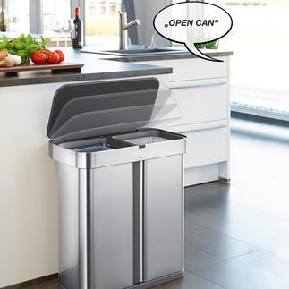 Poubelle à capteur SmartCan Le collecteur de déchets nouvelle génération vous obéit au doigt et à la voix !