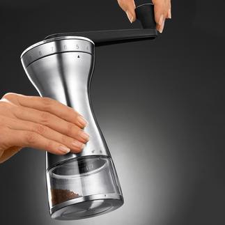 Moulin à café manuel 18 niveaux de mouture Choisissez le degré de meulage adapté pour un expresso, un café filtre, un moka turque ...