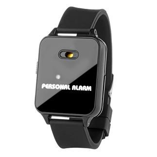 Bracelet alarme 120 décibels Une sirène de 120 dBA met en fuite votre agresseur et alarme les secours.