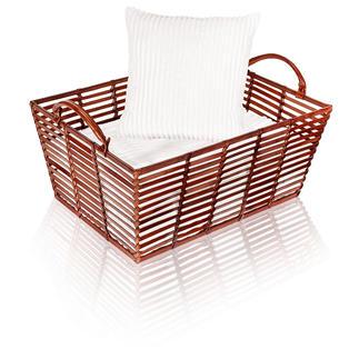 Panier en cuir Paniers en cuir soigneusement travaillés à la main, parfaits pour ranger, conserver et transporter.