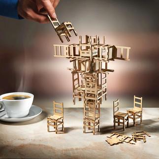 Jeu Stacking Chair Un jeu de société intelligent pour satisfaire votre curiosité et créativité.