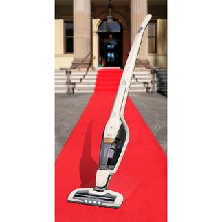 Aspirateur balai sans fil 2-en-1 Ergorapido® X Flexibility Aspirateur à batterie avec aspirateur à main intégré et brosse performante BedPro®.