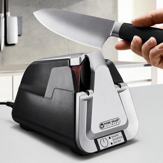 Affûteuse à bande Work Sharp Culinary E5 La technologie des affûteuses à bande professionnelles – pour un usage domestique.