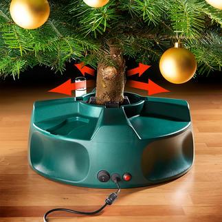 Pied électrique pour sapin de Noël Jamais auparavant, vous n'avez installé votre sapin aussi facilement, rapidement et parfaitement.