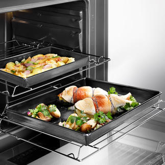 Coupelle à four La coupelle de cuisson en fibre de verre à revêtement Teflon.