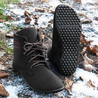 Bottines à lacets barefoot leguano® Ces chaussures sont aussi saines et agréables que la marche pieds-nus. Fabriquées à la main en Allemagne.