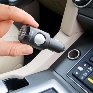 Dispositif d'appel d'urgence Cette alarme high-tech peut sauver des vies en cas d'accident.