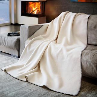Couverture en laine fine naturelle Seul un cachemire de qualité apporte autant de douceur à votre peau.