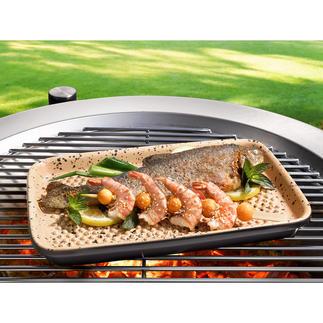 Plaques Lafer BBQ RÖMERTOPF® Nouveauté mondiale : grillez vos aliments sur de la véritable céramique RÖMERTOPF®.
