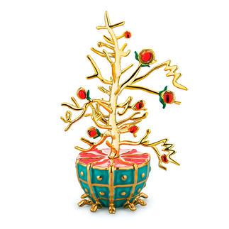 Boules décoratives Fleurs de Jori Alessi Magnifiques boules en porcelaine décorées à la main.
