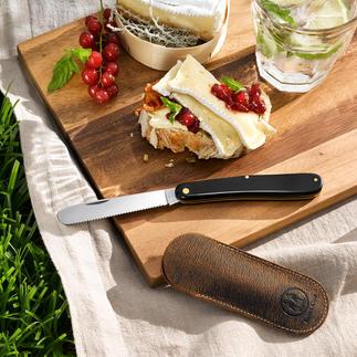 Couteau pliant de poche Un parfait compagnon en déplacement. Fabriqué traditionnellement à la main.