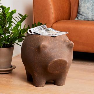 Desserte cochon Desserte et sculpture en un seul objet : la desserte cochon, pour la touche d'humour et d'originalité.