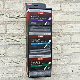 Distributeur de lingettes Car Care Choisissez toujours la lingette adaptée à la tâche que vous devez effectuer.