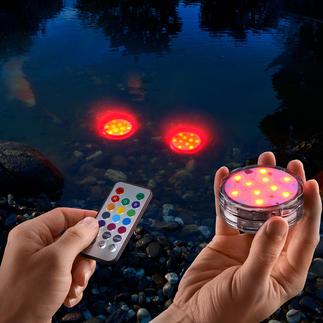 Spots LED lumineux étanches, lot de 3 pièces Touches lumineuses sans fil pour l'intérieur et l'extérieur. Étanche et qui ne prend pas la poussière.