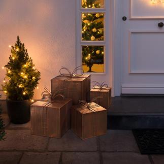 Cadeaux décoratifs en métal Des colis venus du ciel. Jolie pour l'intérieur et l'extérieur.