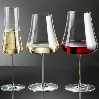 Verres à vin Stem Zero, lot de 2pièces Délicat et élégant et pourtant extrêmement résistant à la casse.
