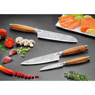 Collection de couteaux Gehring « Herbe » Une lame au design unique à l'effet anti-adhérent étonnant. Fabrication allemande.