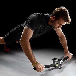 Appareil de renforcement musculaire PRAEP® Balance Trainer ProPilot® Core training, inspiré par le VTT et le motocross. Par le fabricant allemand de matériel de sport PRAEP®.