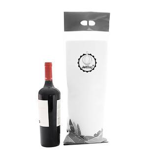 JetBag™ Enfin les bouteilles fragiles peuvent voyager de façon deux fois plus sûre.