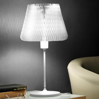 Lampe de table à abat-jour modulable Une lampe de table – 12 looks différents. Au design exceptionnel.