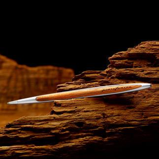 Stylo Pininfarina en bois de Kauri La signature caractéristique de Pininfarina.  Exclusivement chez Pro-Idée.