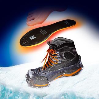 Semelles chauffantes chili-feet, la paire Transforme l'énergie cinétique en chaleur, à chaque pas. Un produit de qualité Suisse.