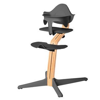 Chaise haute Nomi Le vainqueur du test* sur les chaises hautes pour enfants. Design scandinave primé.
