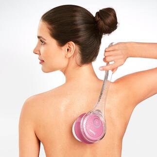 Brosse électrique pour le corps Beurer Prenez soin de votre peau très facilement sous la douche ou dans le bain.