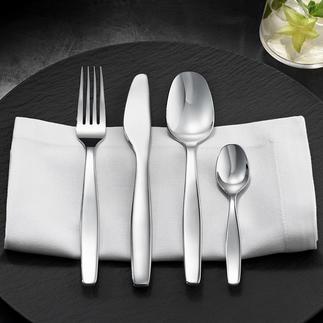 Ménagère Itsumo Alessi Noblesse, raffinement et robustesse adaptée à un usage au quotidien. Design signé Naoto Fukasawa.