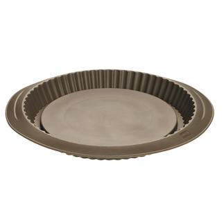 Moule en silicone pour tartes/gâteaux aux fruits Terminés les fonds de pâte brisée qui cassent ! Fini le biscuit qui colle sur le fond !