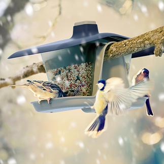Mangeoire à oiseaux « Multi » Fixation sûre dans l'arbre. Convient aussi pour la balustrade du balcon.