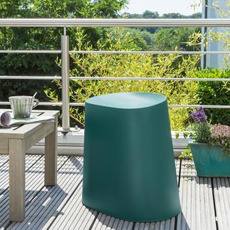 Tabouret Relish Un objet aux talents multiples : tabouret, chaise de jardin, repose-pieds …