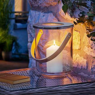 Photophore 3-en-1 Design en verre fin. Élégance intemporelle. Assorti à tous les intérieurs. À décorer selon les saisons.