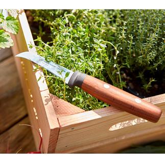 Couteau bec d'oiseau Wüsthof Un couteau professionnel pour vos activités de jardinage : précis, tranchant, avec lame bec d'oiseau.