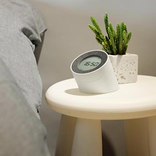 Réveil « Edge » À la fois réveil design et lampe de chevet ou d'ambiance.