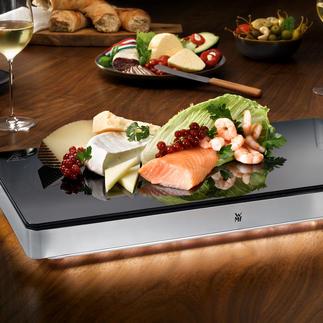 Plaque de maintien au chaud ou au froid WMF Ambient Un objet rare, à la fois chauffe-plat et plaque de refroidissement. Format gastronomique, par WMF.