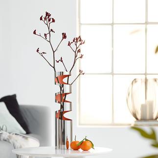 Vase LOOM Vase polyvalent. Sculpture raffinée. Toujours un accroche-regard décoratif.