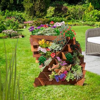 Jardin vertical Liseron des champs Belle forme haute pour ce jardin vertical qui triple la surface utile. Fabriqué en Allemagne.