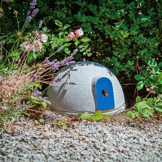 Hôtel à bourdons Granicium® Un lieu de nidification sûr pour les pollinisateurs utiles.  Fabriqué en céramique Granicium®.