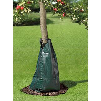 Sac d'irrigation Arroser comme les pros : le sac d'arrosage par libération uniforme de gouttelettes.
