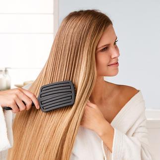 Brosse à cheveux Touch & Glide Fingerbrush Enfin des cheveux soyeux et lisses sans tirer.