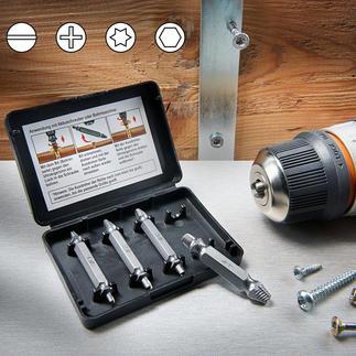 Kit d'extracteur de vis Dévissez les vis usées et abimées plus rapidement et plus facilement.